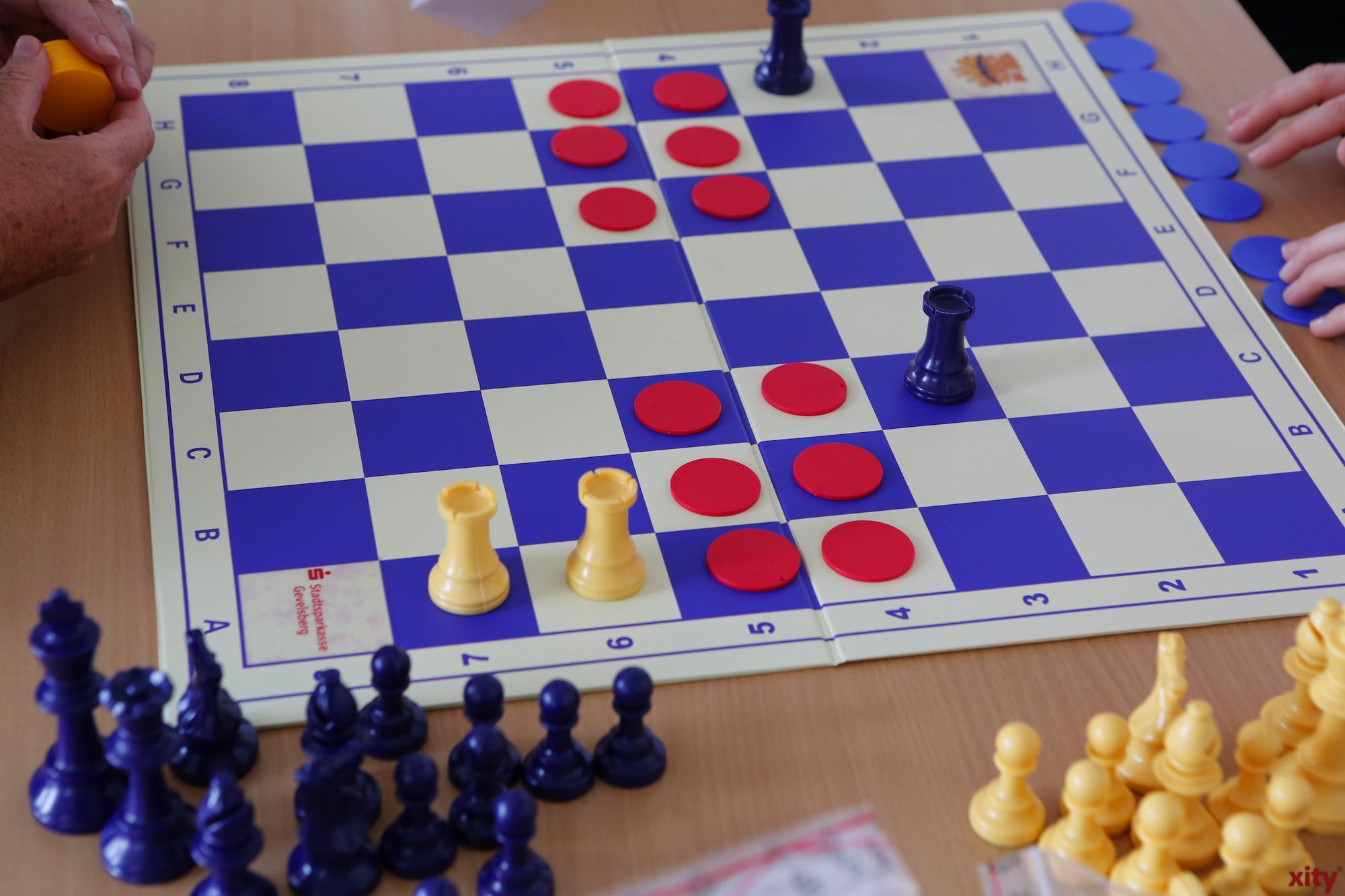Zum lernen wurde Chips-Schach eingeführt (Foto: xity)