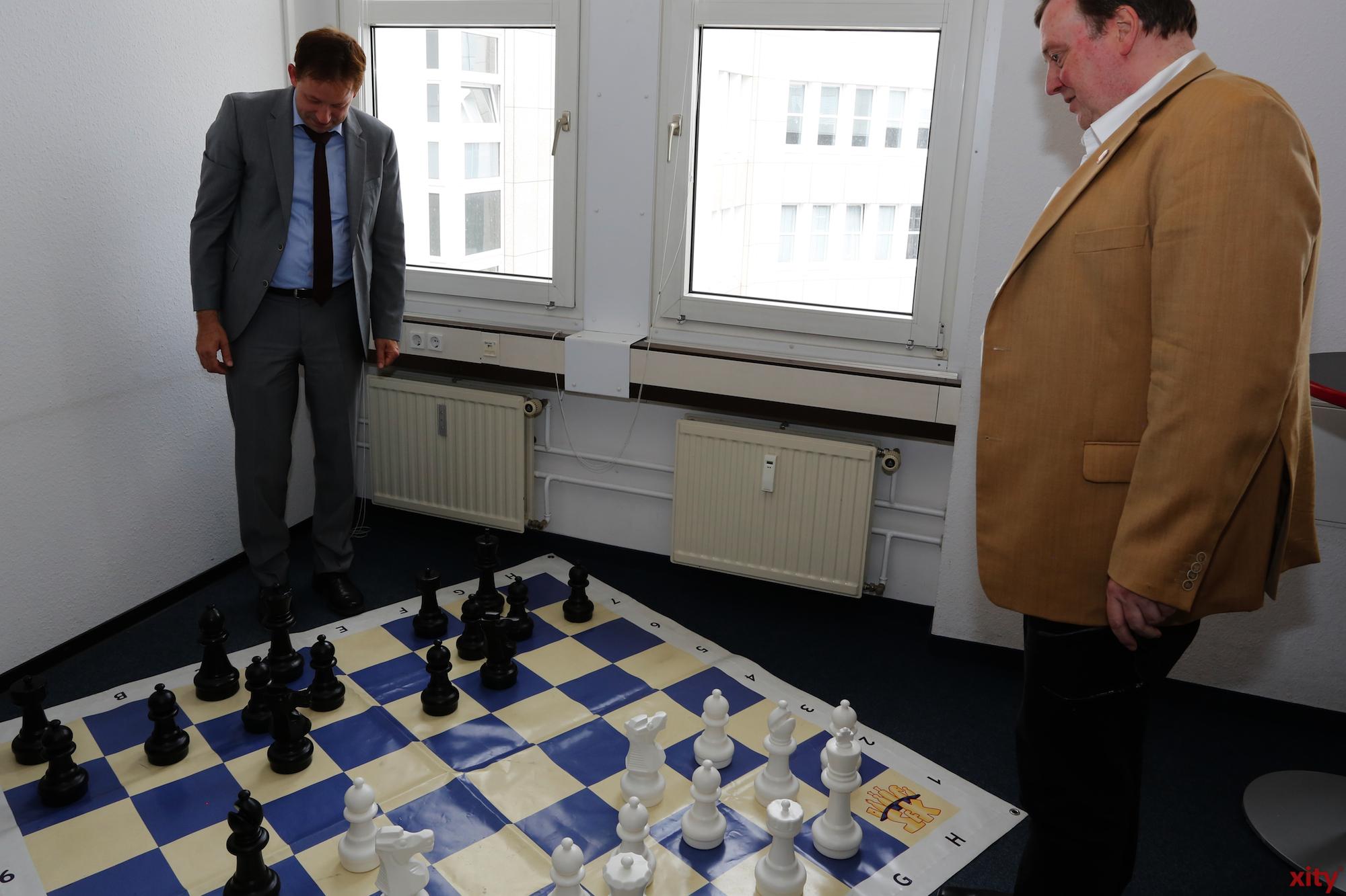 Mit so einem großen Feld macht Schach doppelt Spass(Foto: xity)
