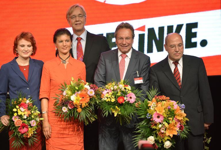Wagenknecht und Bartsch wollen offenbar Gysi beerben (© 2015 AFP)