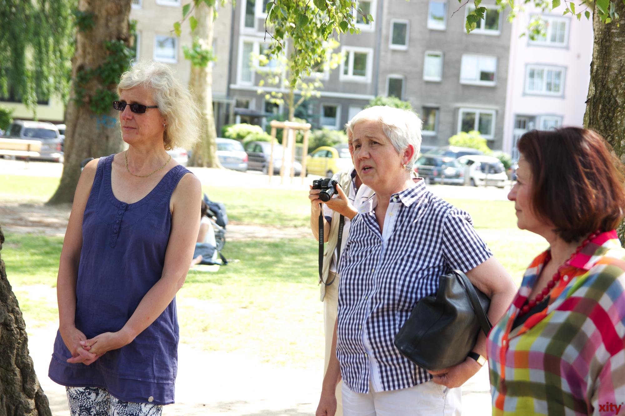 Doris Törkel nahm sich der Kritik an und hörte den Bürgern aufmerksam zu(Foto: xity)