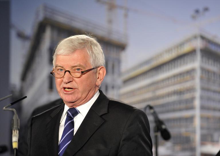 NSA-Ausschuss befragt Ex-BND-Chef Uhrlau (© 2015 AFP)