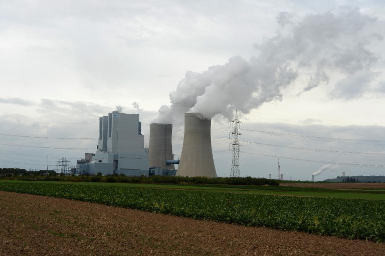 Grünen dringen auf Klimaabgabe für Kohlekraftwerke (© 2015 AFP)