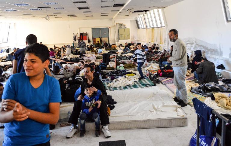 EU-Nothilfe für Flüchtlinge in Griechenland gefordert (© 2015 AFP)