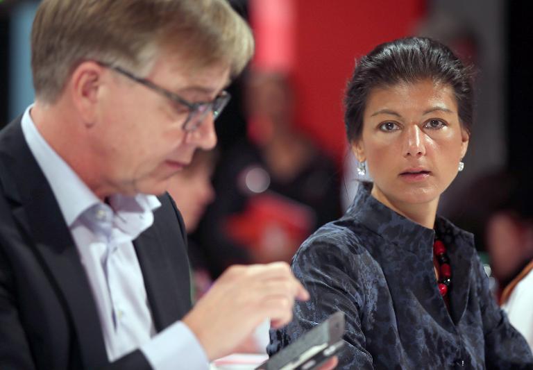 Wagenknecht und Bartsch sollen Linken-Fraktion führen (© 2015 AFP)