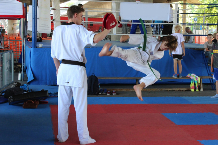 """Sportinformations-Messe """"Kids in action"""" im Arena-Sportpark (Foto: xity)"""