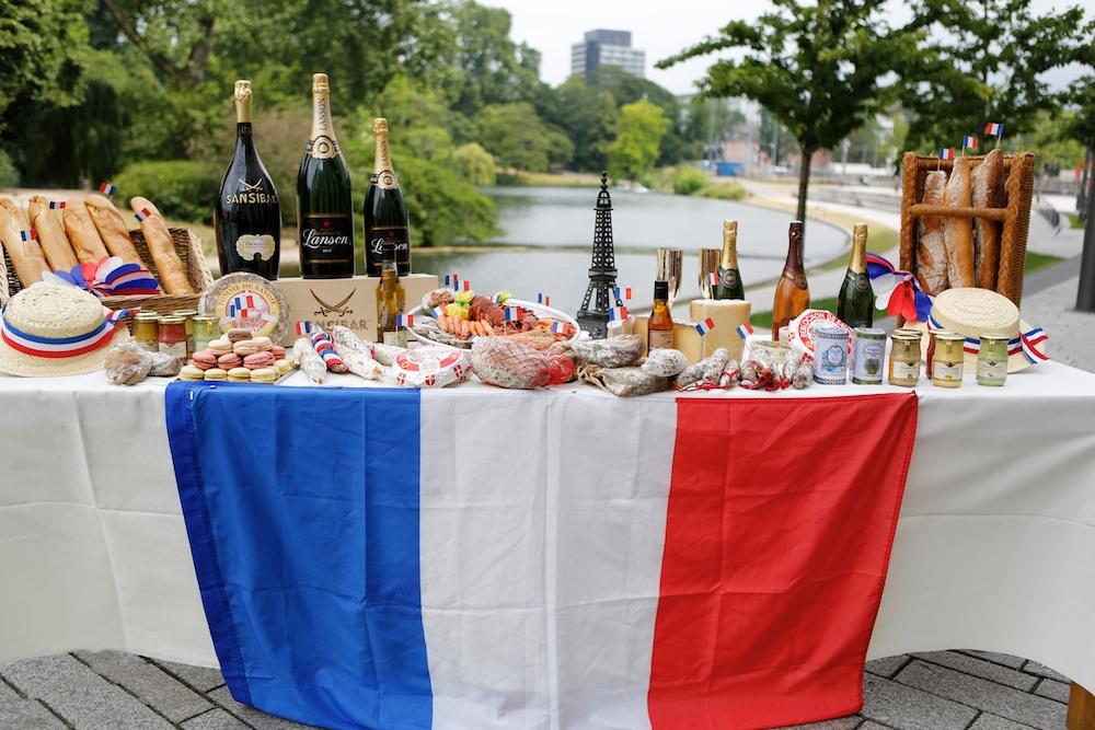 Kulinarisch findet auf dem Frankreichfest wohl jeder Besucher seinen Liebling (Foto: xity)