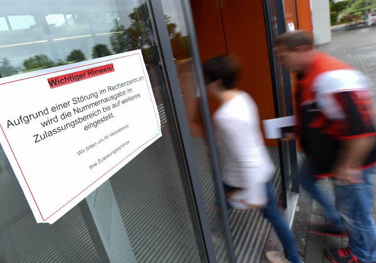 Cyberattacke auf Kfz-Zulassungsstellen (© 2015 AFP)