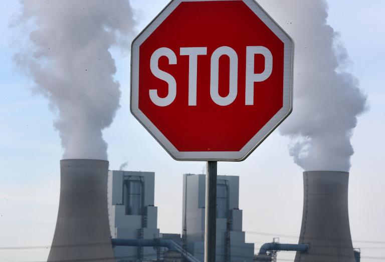 Klimaabgabe für Kohlekraftwerke ist offenbar vom Tisch (© 2015 AFP)