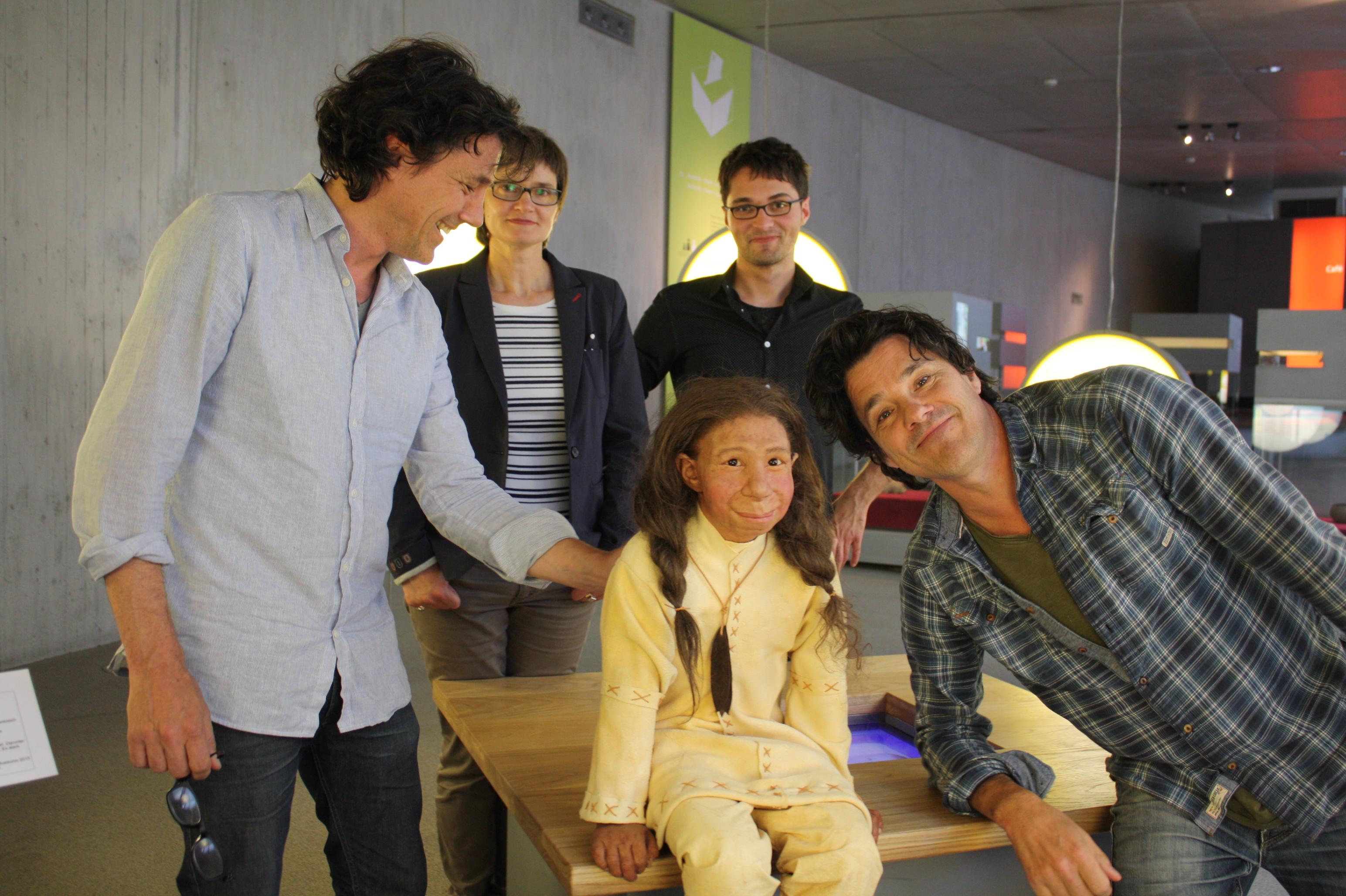 Familienzuwachs im Neanderthal Museum (Foto: Neanderthal Museum)
