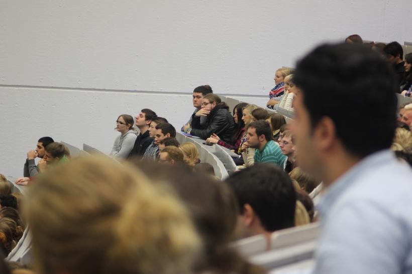 """Studienzentrum Krefeld informiert am """"Langer Abend für Studienberatungen""""(Foto: xity)"""