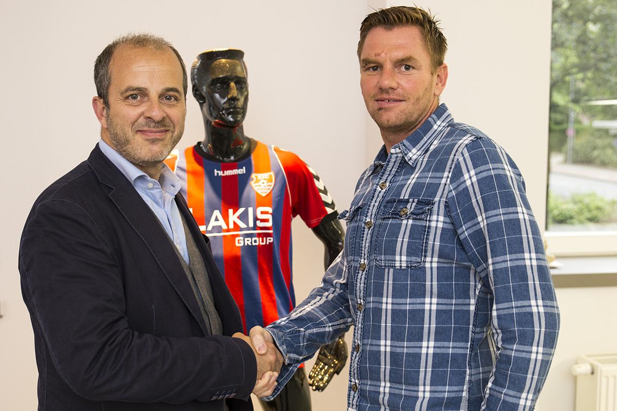 Michael Boris ist neuer Trainer des KFC Uerdingen für die kommenden Saison. (Foto: kfc-uerdingen)