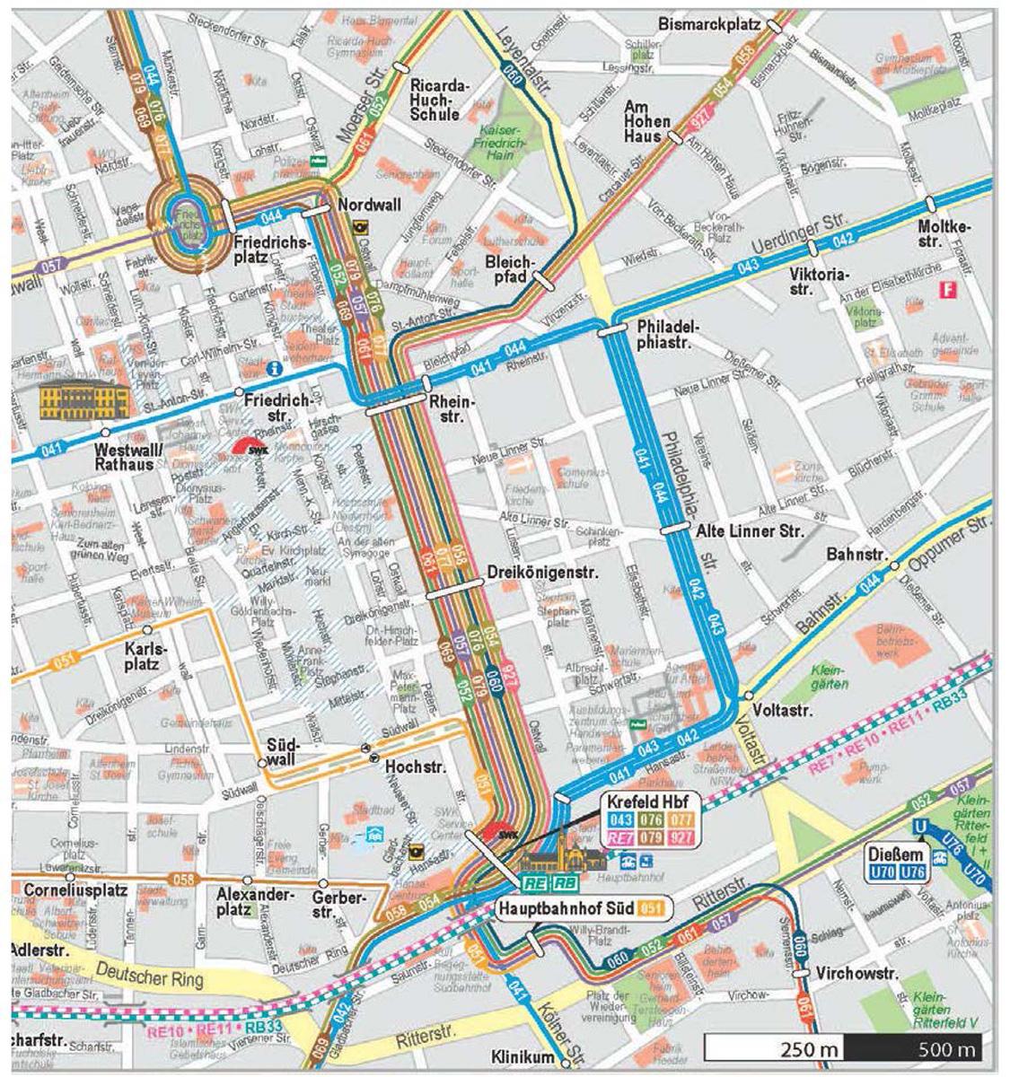 Ab dem 29. Juni 2015 fahren die Straßenbahnen erneut eine Umleitung. (Foto: SWK)