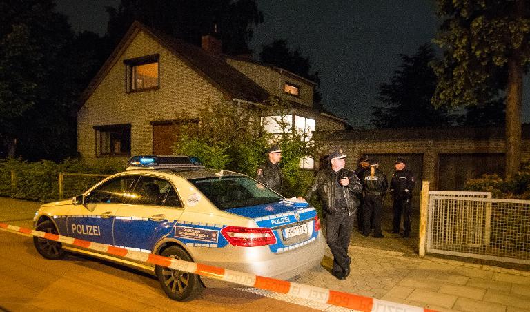 Hamburg: Hausbewohner erschießt mutmaßlichen Einbrecher (© 2015 AFP)