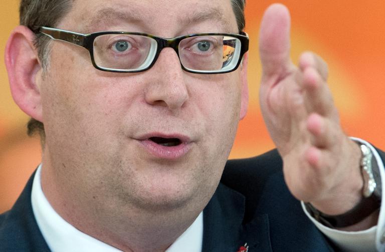 """Schäfer-Gümbel kritisiert """"Ruckel-Kommunikation"""" der SPD (© 2015 AFP)"""
