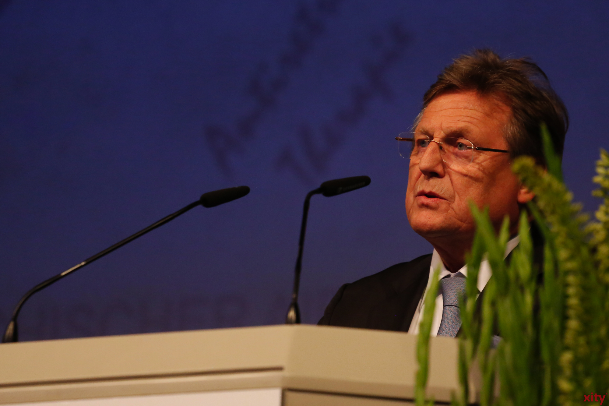 Prof. Dr. Dieter Hässing hielt die Eröffnungsrede (Foto: xity)