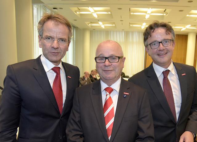 Andreas Ehlert, Karl-Heinz Reidenbach und Dirk Schäfermeyer (Foto: Handwerkskammer Düsseldorf)