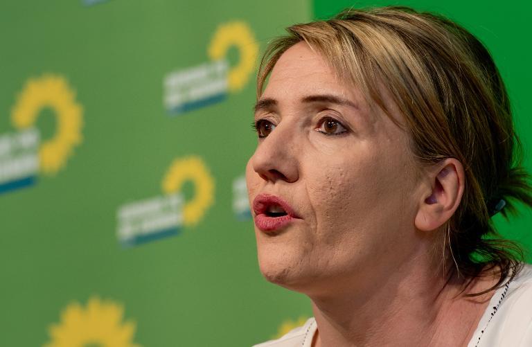 Grüne fordern Entscheidung Merkels über Griechenland (© 2015 AFP)