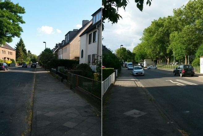 Auf dem Wilhelm-Heinrich-Weg kam es Nachts zu Vandalismus (Foto: Privat)