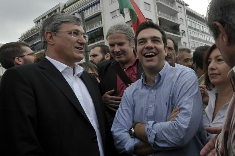 Linke kann Tsipras möglichen Amtsverzicht verstehen (© 2015 AFP)