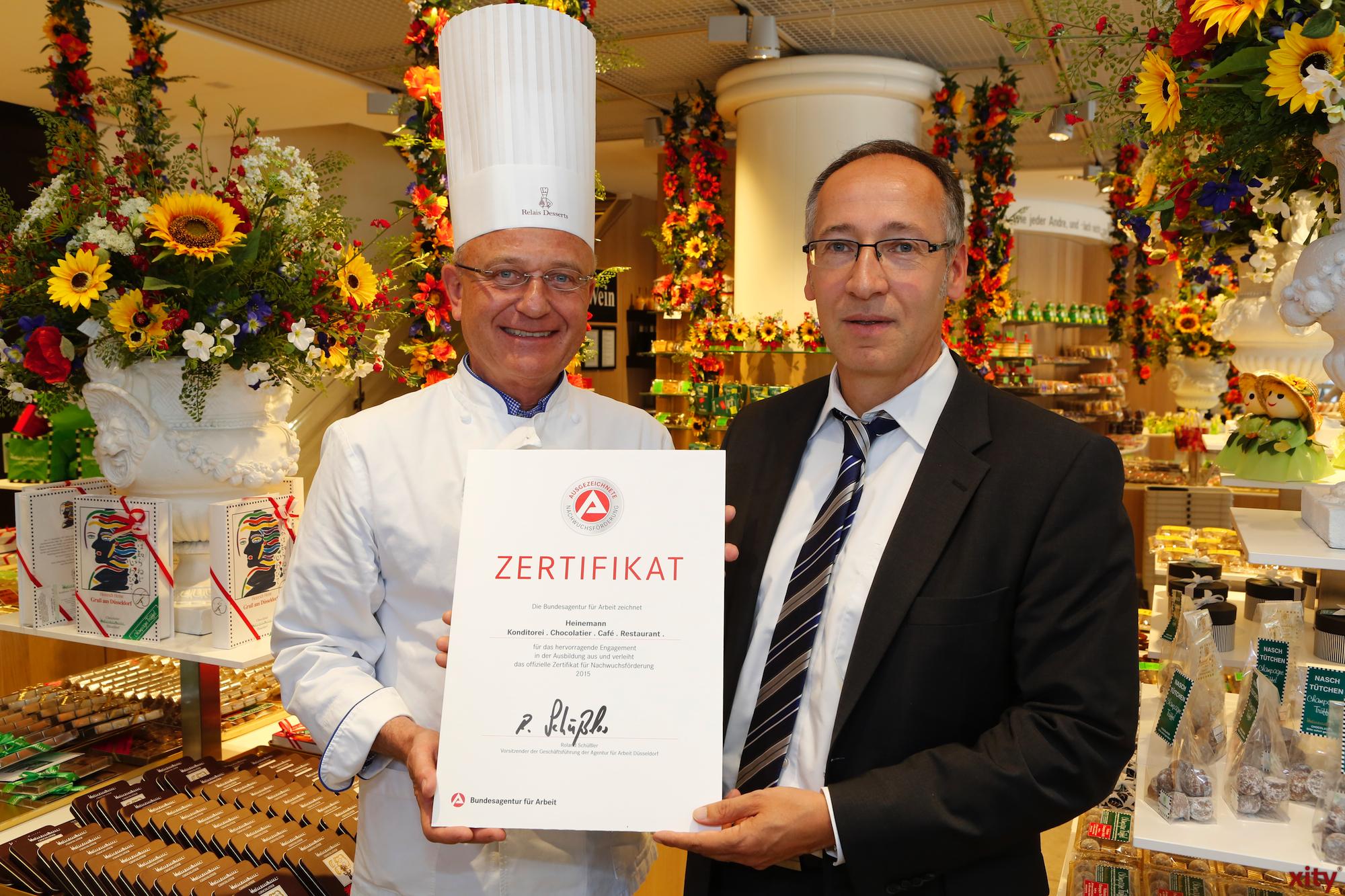 Heinz-Richard Heinemann (l.) und Roland Schüßler (Foto: xity)