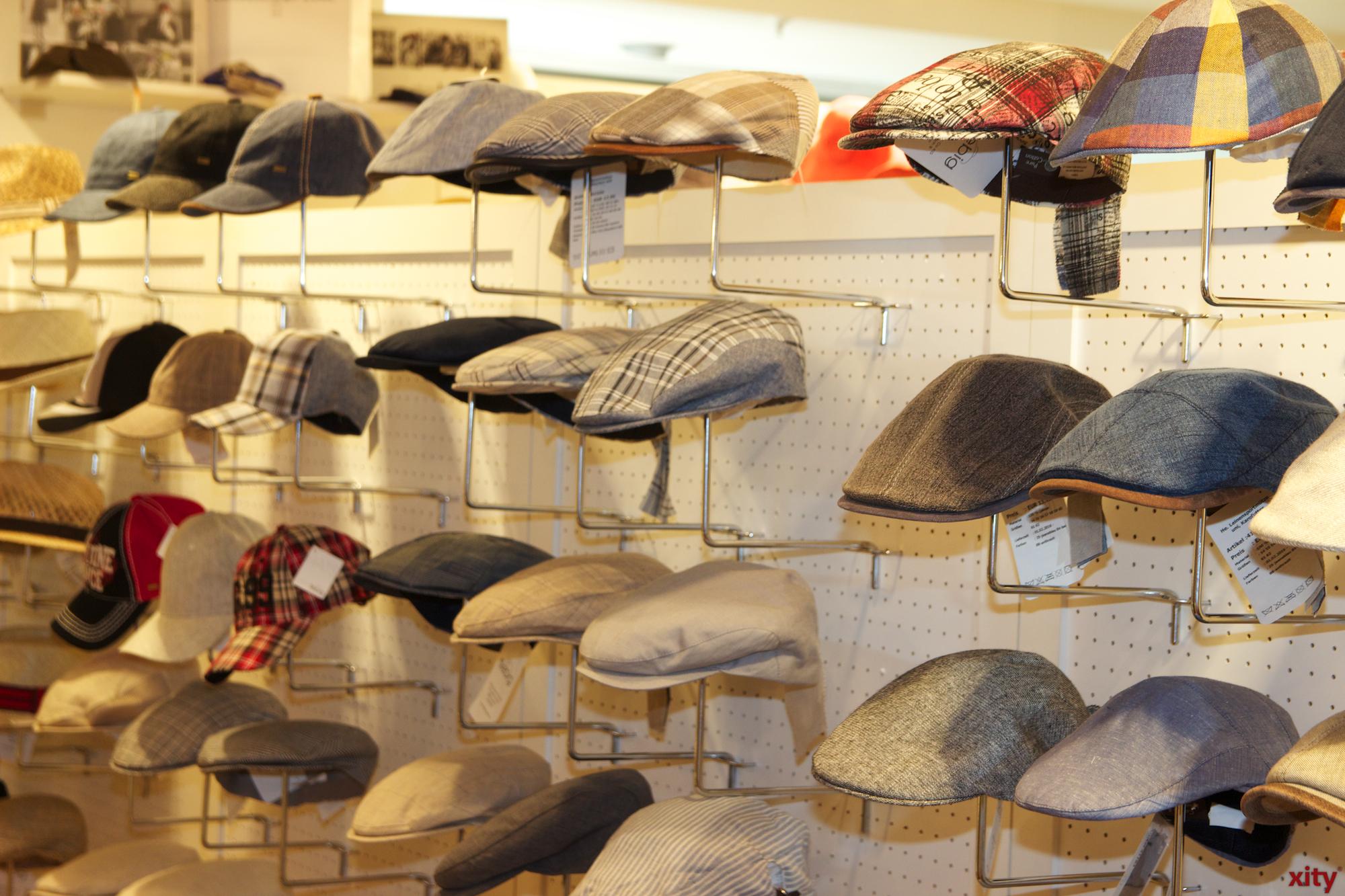 Ob Herren oder Damenhüte auf der Messe ist für jeden Geschmack etwas dabei.  (Foto: xity)
