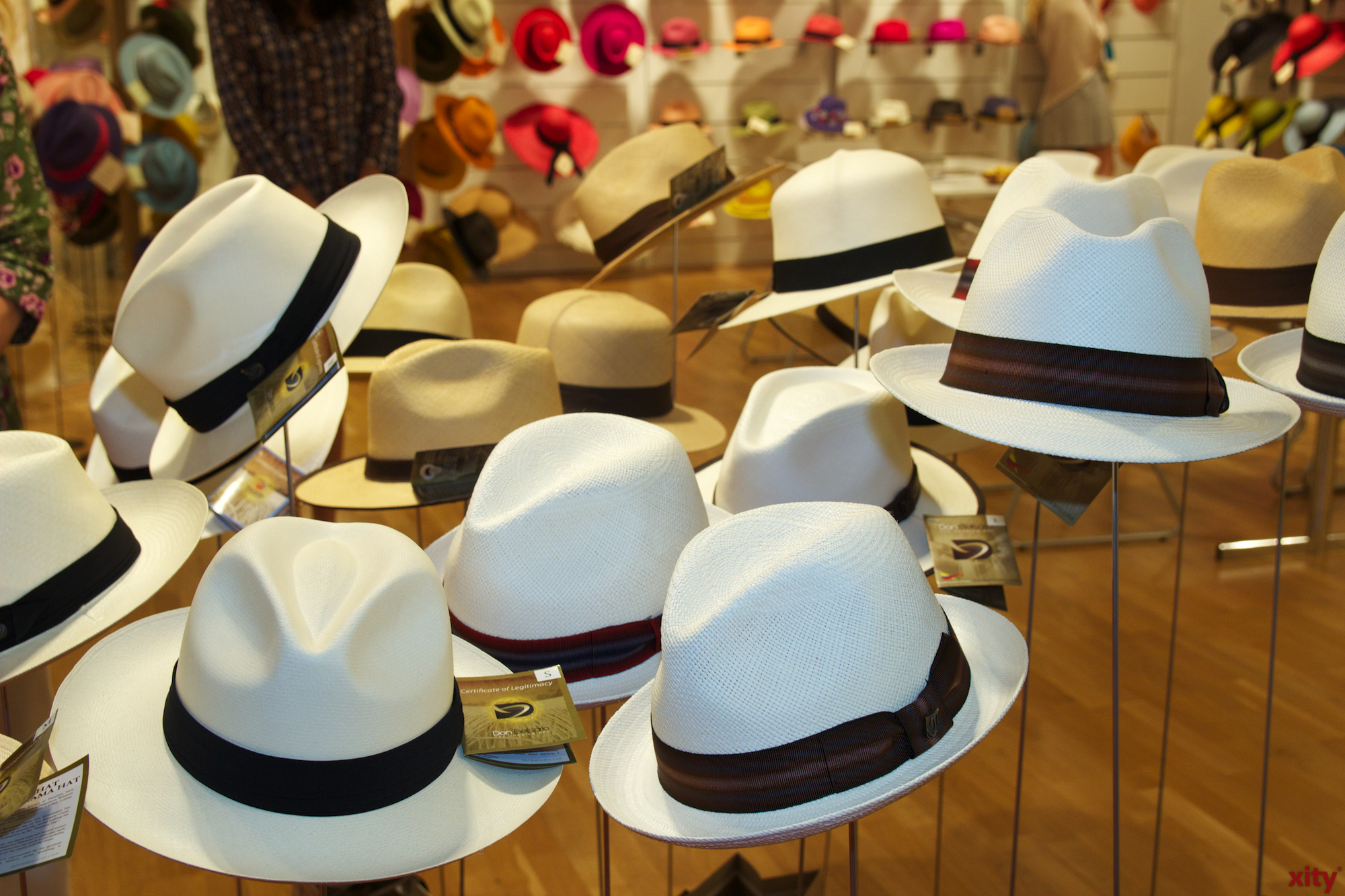 Hüte aus der ganzen Welt werden gezeigt(Foto: xity)