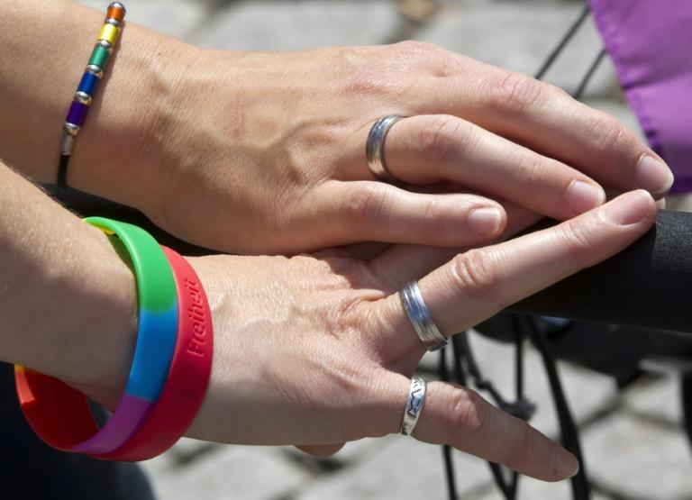 SPD-Politiker Kahrs will Homo-Ehe ohne Union durchsetzen (© 2015 AFP)