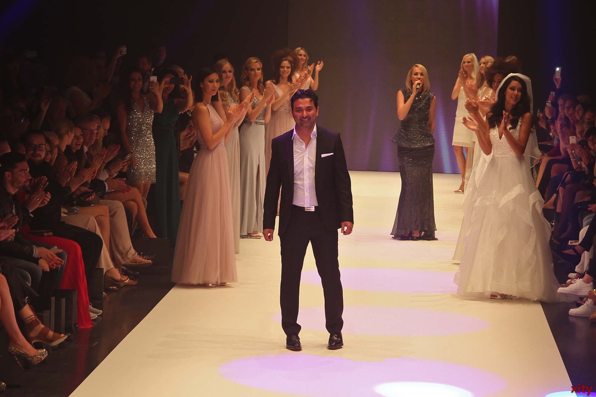 Shahin Moghadam, CEO of Unique Europe presented his new collection for the year 2016 (Photo: Xity)