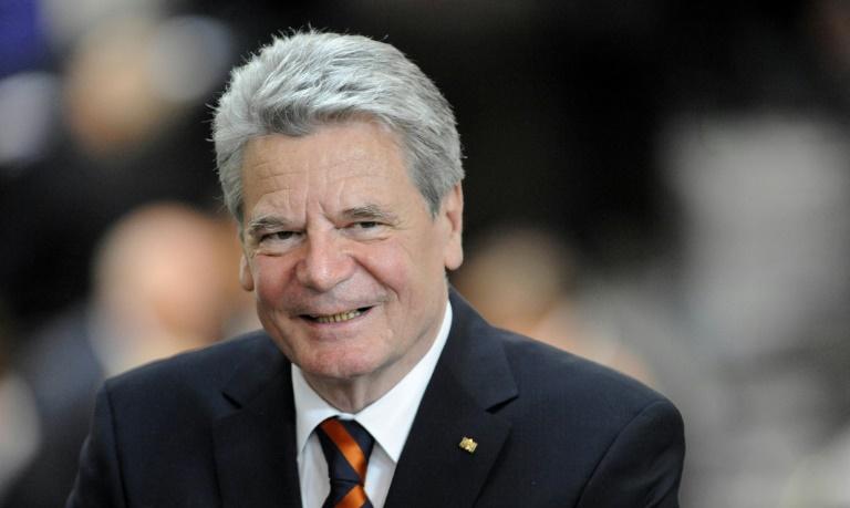 Gauck eröffnet Maccabi Games in Berlin (© 2015 AFP)
