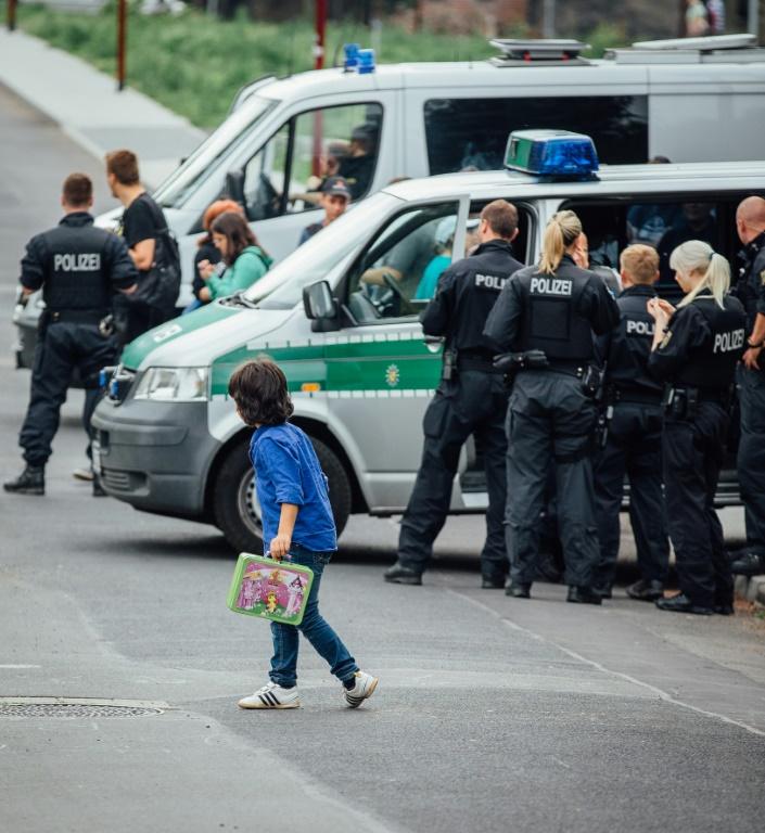 Extremismus-Zentrum ermittelt zu Explosion in Freital (© 2015 AFP)