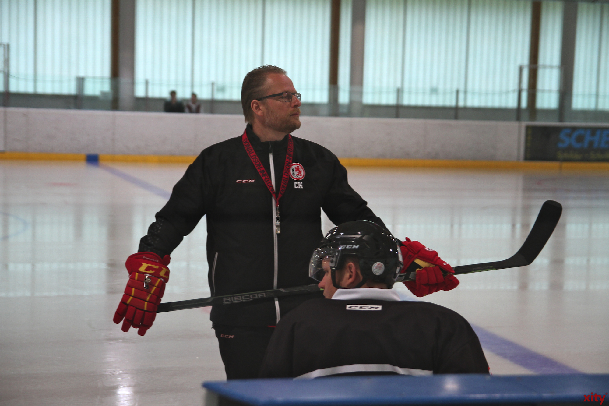 Head coach Christof Kreutzer pushed the team to their limits (Photo: Xity)
