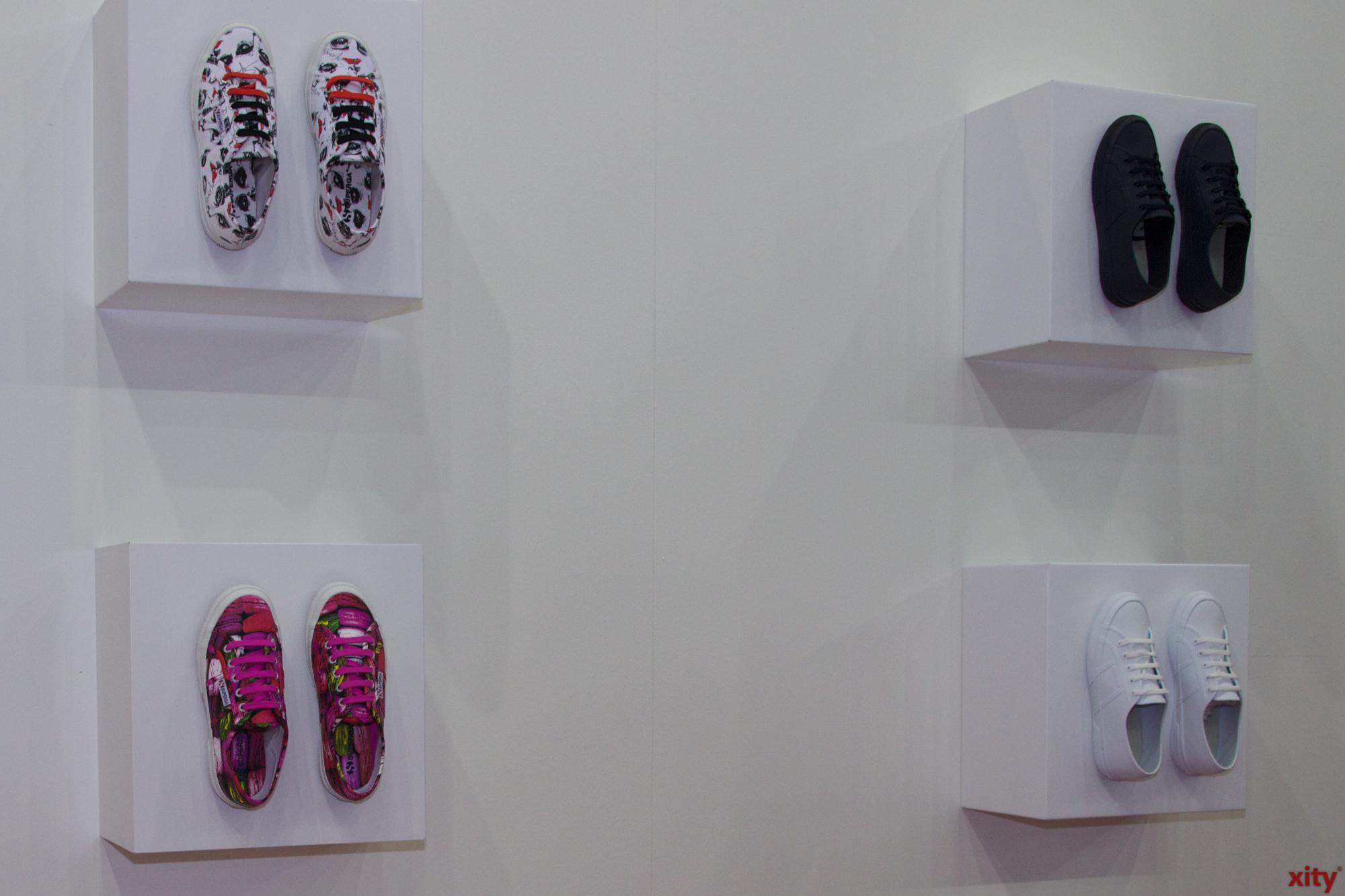Kreativ gestalteten die Marken ihre Messestände (Foto: xity)