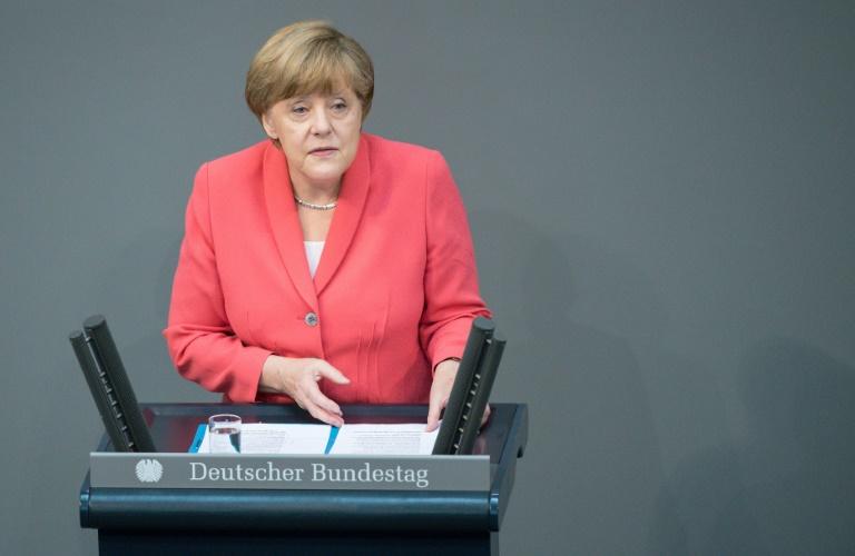 Merkel tritt angeblich für vierte Amtszeit an (© 2015 AFP)