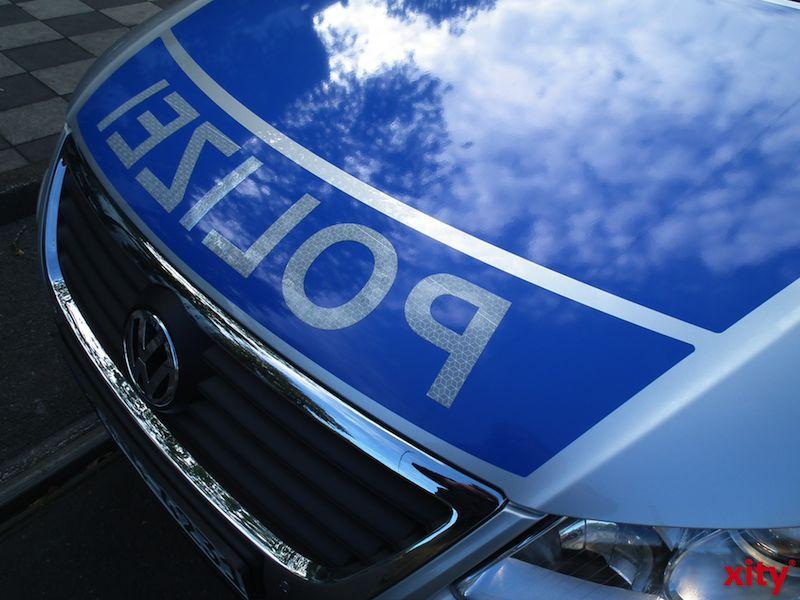 Am 6. August 2015 informiert Polizeihauptkommissar Peter Oertel im BIZ über die Ausbildung und das Studium bei der Polizei. (Foto: xity)