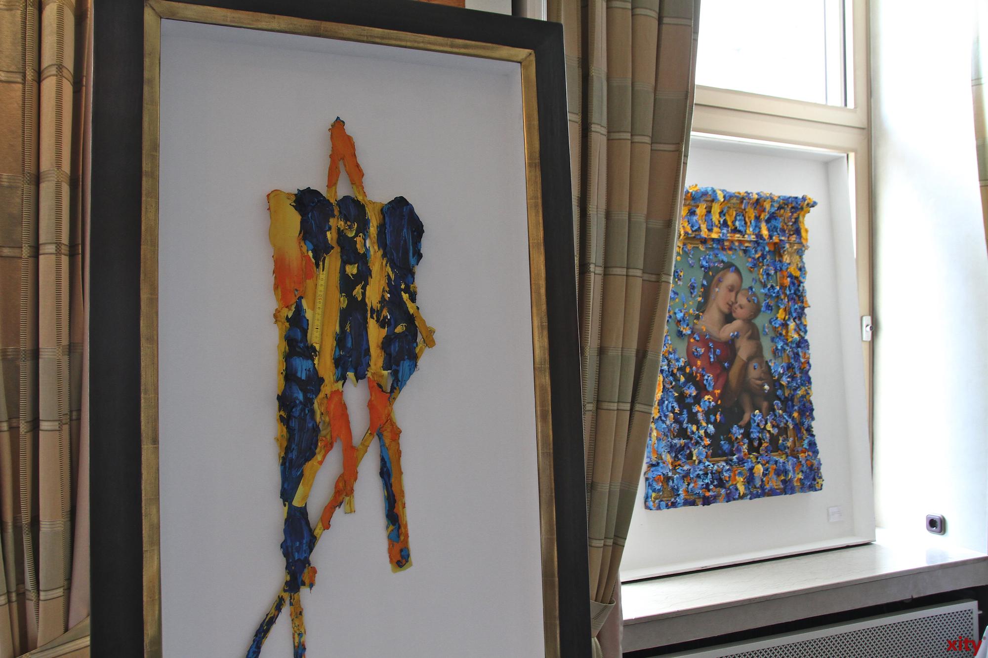 Bernd Schwarzer gilt als weltweit erfolgreicher Maler (Foto: xity)