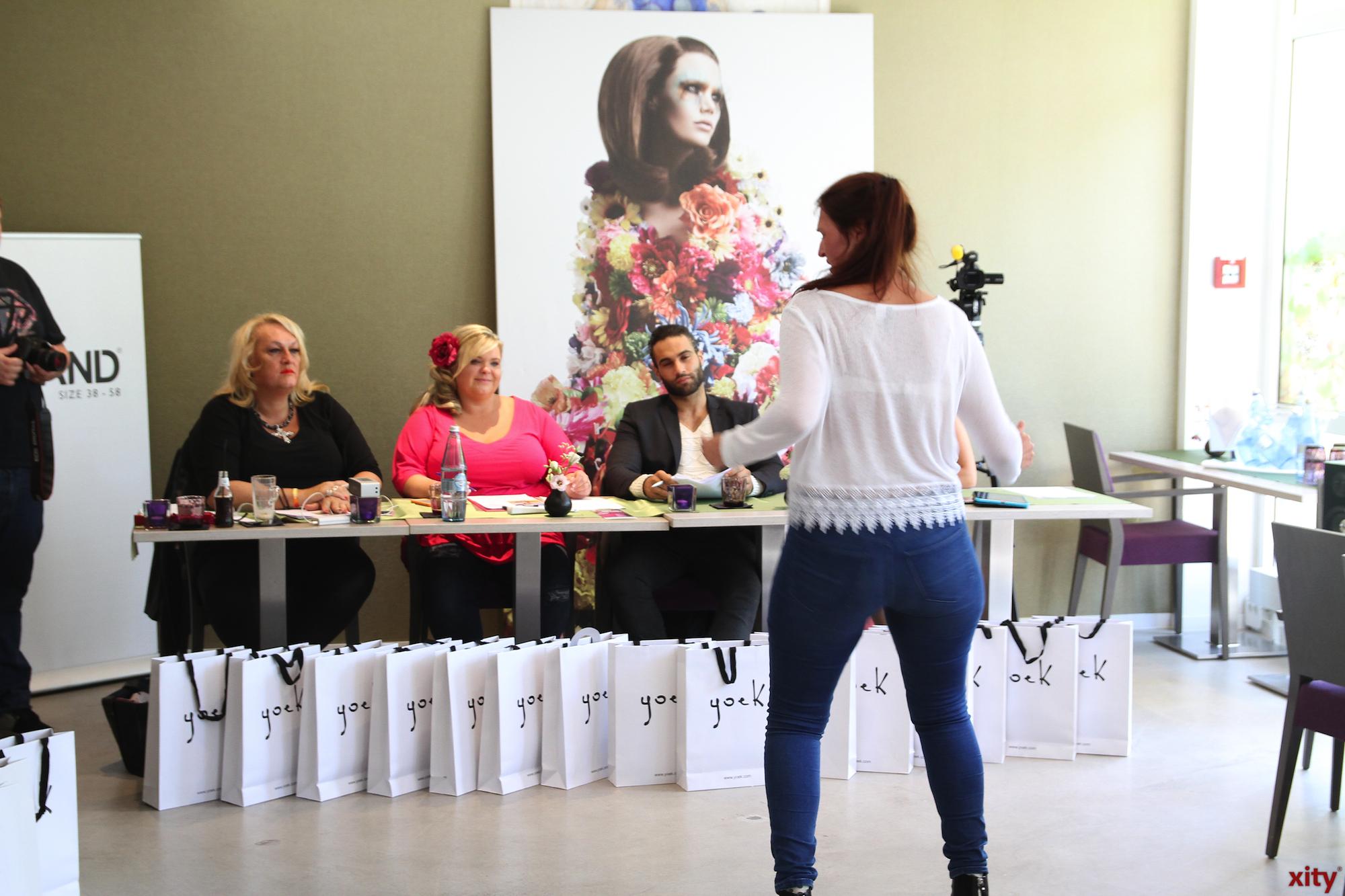 Vor der Jury hatten die Teilnehmerinnen Zeit sich vorzustellen und ihr Talent zu zeigen. (Foto: xity)