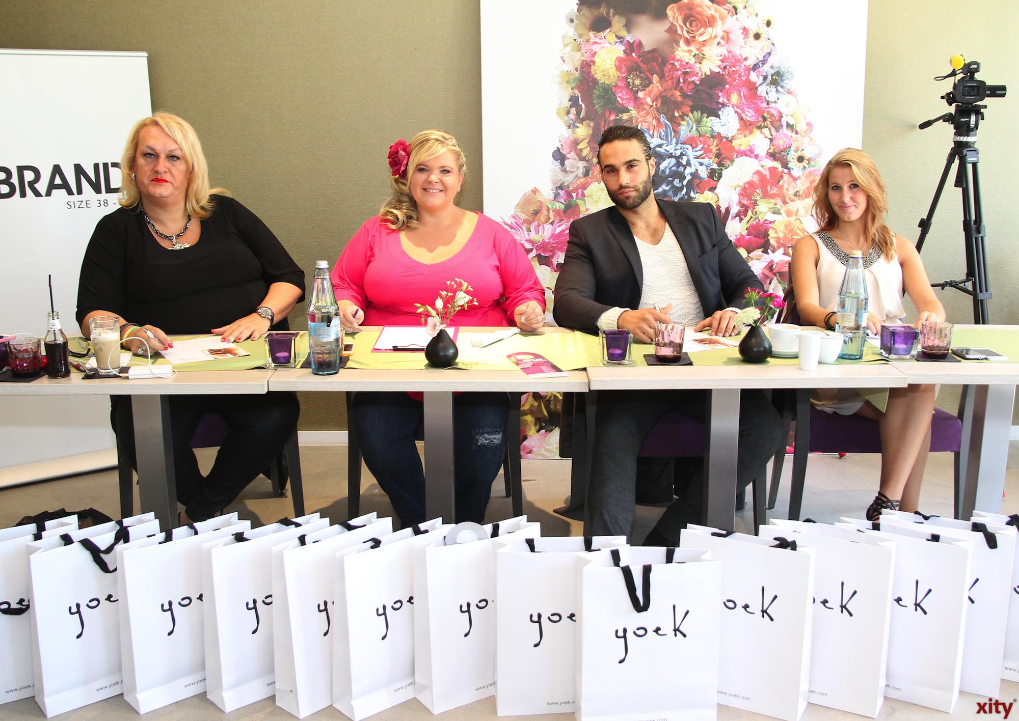 The jury included Käthe Köstlich, David Ortega Arenas, Karolin Grun and Melanie Hauptmanns (Foto: xity)
