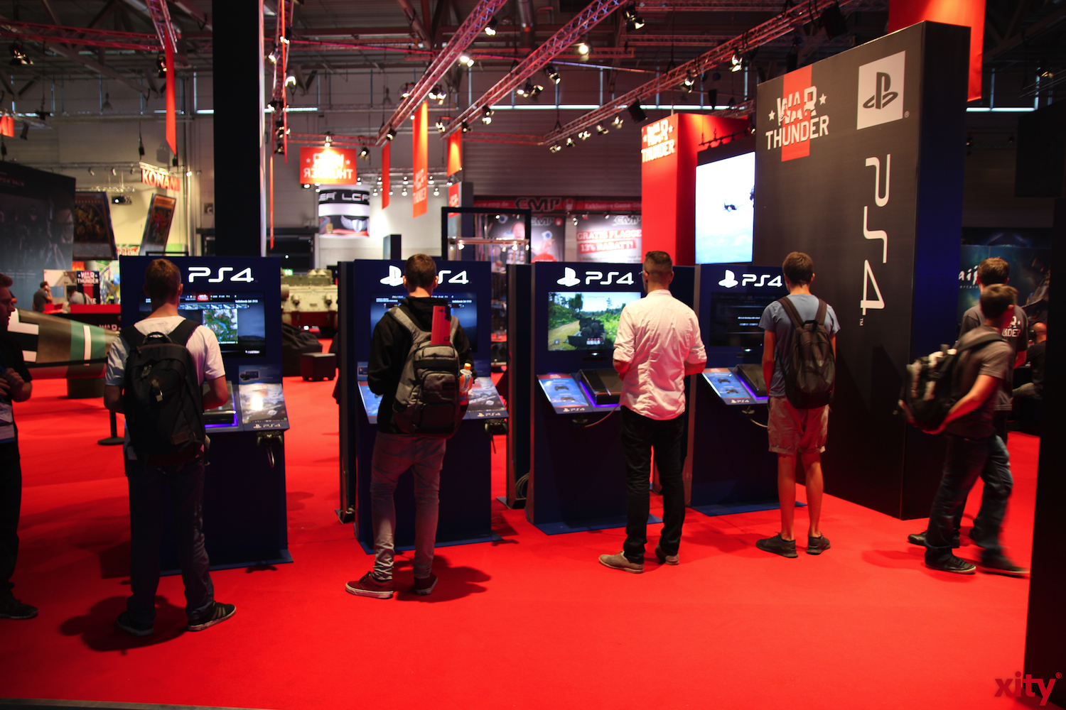 From the 5th to the 9th of August 2015, the Gamescom in Cologne will run for the seventh time. (photo: Xity)