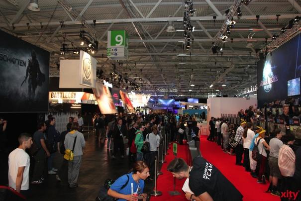 Die Gamescon in Köln öffnet ihre Pforten (Foto: xity)