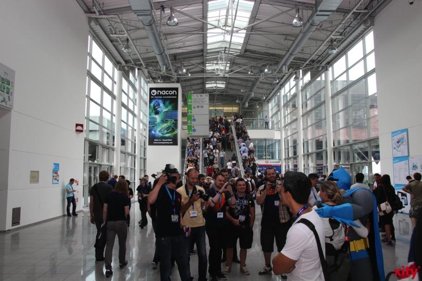 und verwandelt das Messegelände für fünf Tage in den wichtigsten Hotspot für Computer- und Videospiele (Foto: xity)