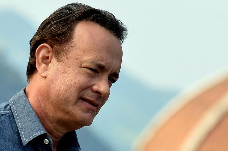 """Tom Hanks könnte """"jederzeit in Berlin abhängen"""" (© 2015 AFP)"""