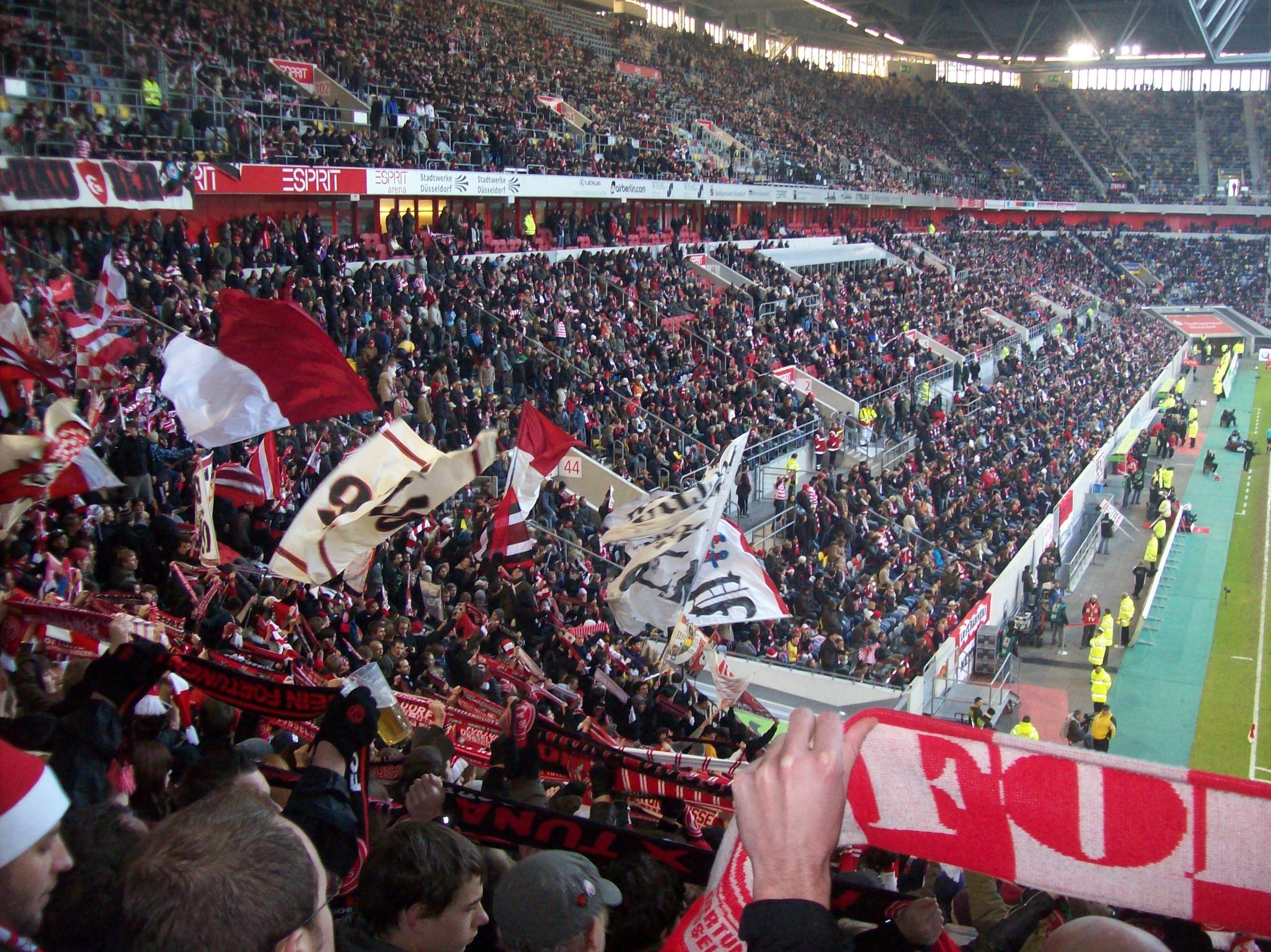 Genau in einer Woche wird Fortuna Düsseldorf Zuhause gegen den MSV Duisburg spielen (Foto: xity)