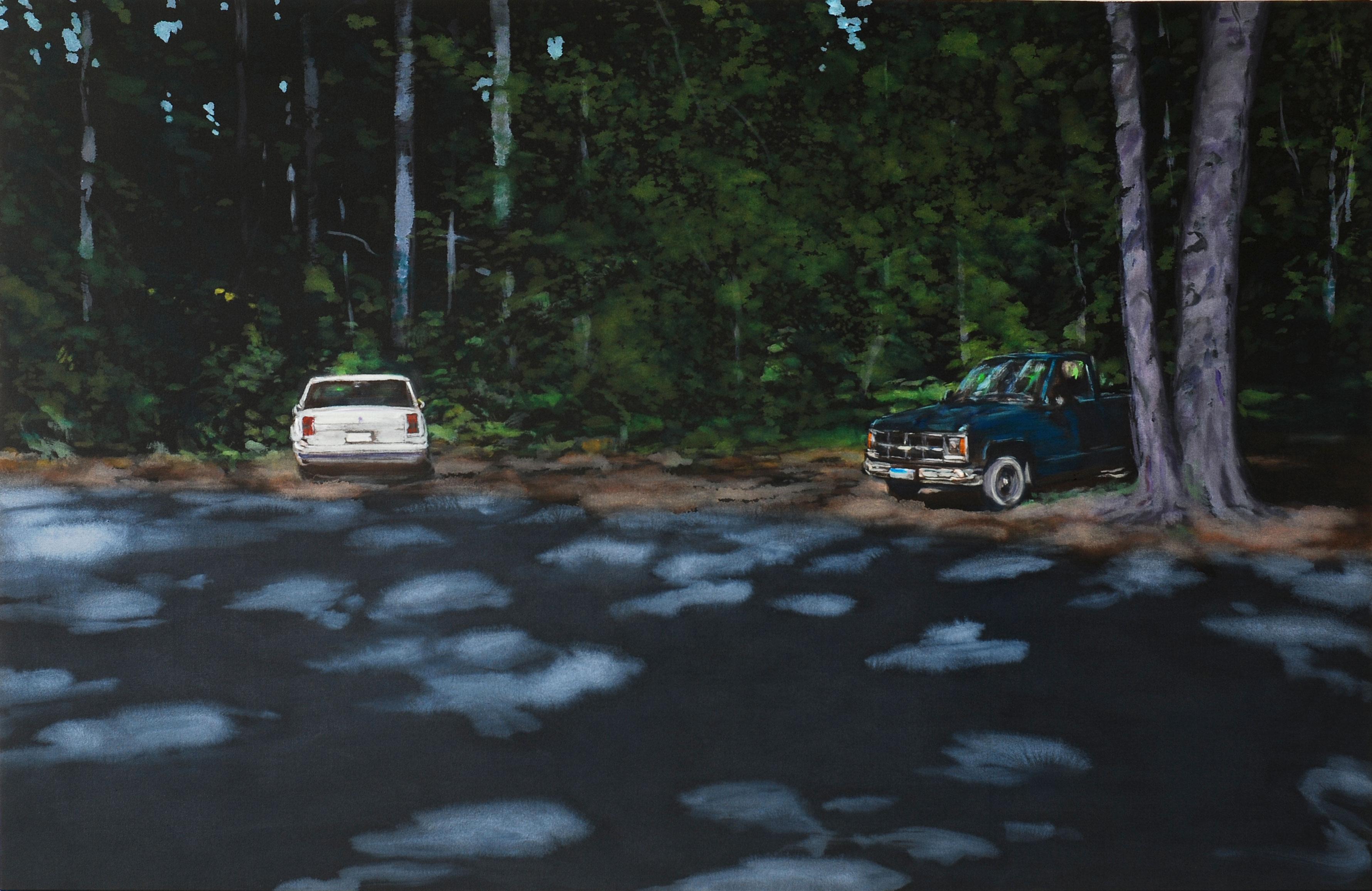 Malerei von Benjamin Nachtwey (Foto: Benjamin Nachtwey)