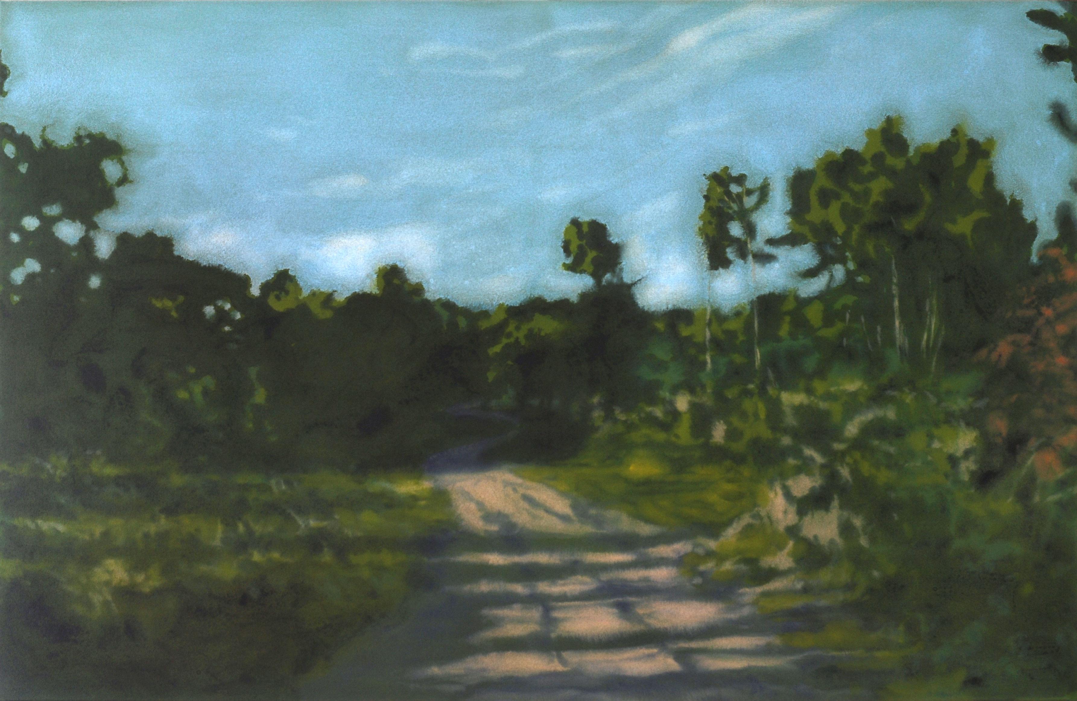 """Vernissage der neuen Ausstellung """"along the way - Malerei von Benjamin Nachtwey"""" (Foto: Benjamin Nachtwey)"""