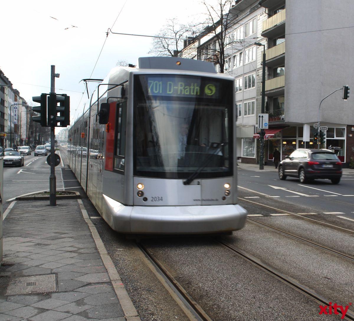 Flottere Fahrt für die Rheinbahn mit Vorrang an den Ampeln (Foto: xity)