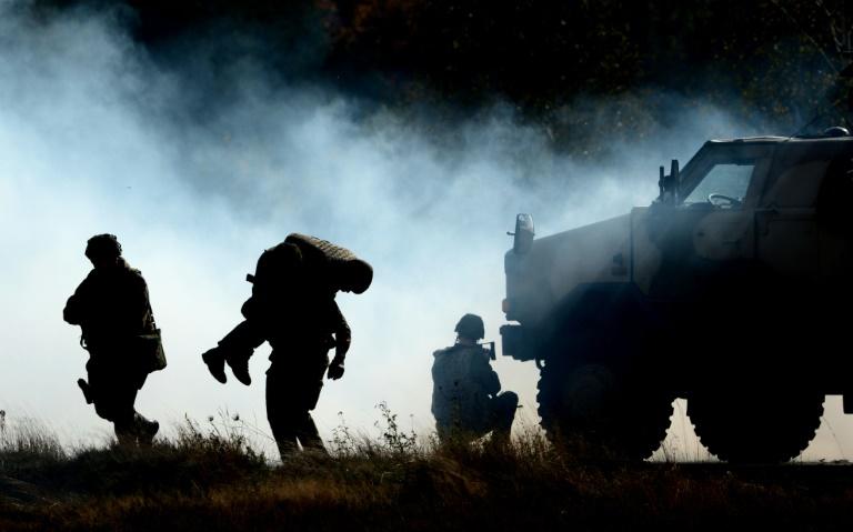 De Maizière gegen Einsatz der Bundeswehr im Innern (© 2015 AFP)