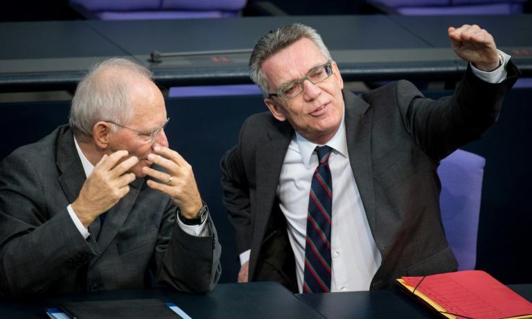 De Maizière setzt auf Mehrheiten für Flüchtlingskontingente (© 2015 AFP)