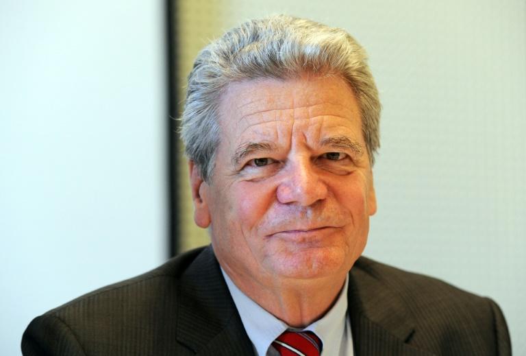 Gauck spricht als erster Bundespräsident vor Bundesrat (© 2015 AFP)