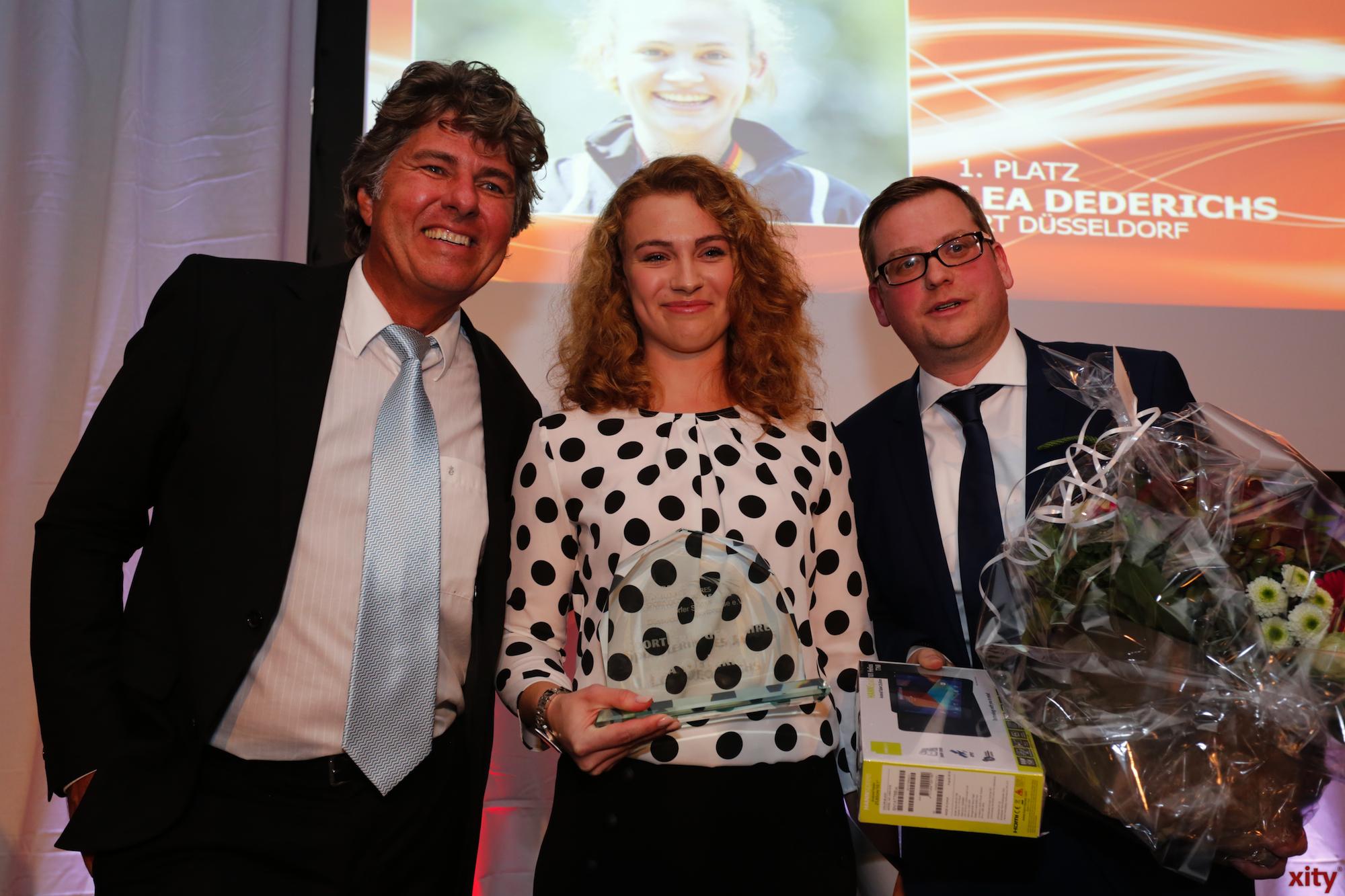Lea Dederichs wurde Sportlerin des Jahres (Foto: xity)