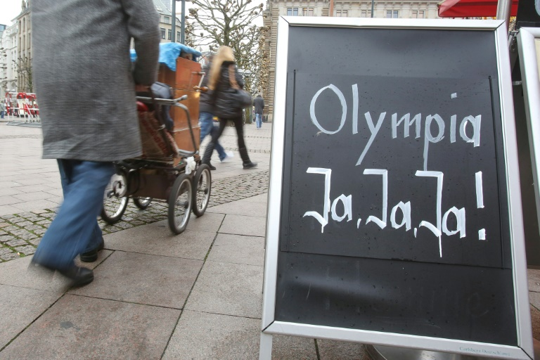 Olympia-Referendum in Hamburg (© 2015 AFP)